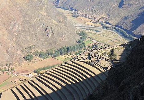Pisaq Inca complex at the Sacred Valley