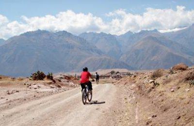 Mountain biking to Machu Picchu