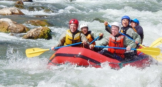 Chilli, Arequipa river rafting