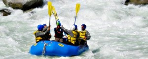 Ceñete river rafting