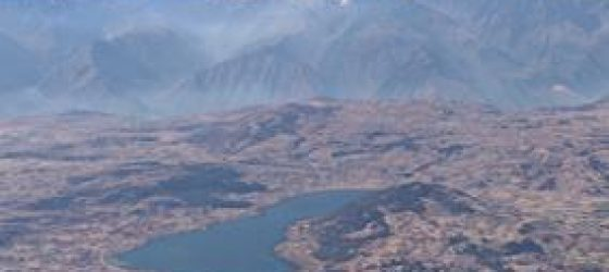 Sacred Valley mountain range Cusco Peru