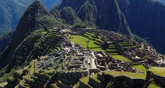 Machu Picchu Inca trail ruin