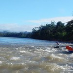 Rain forest rafting adventure