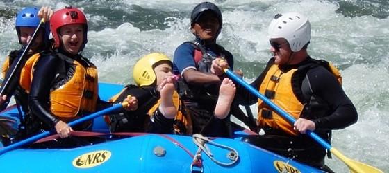 Upper Urubamba white water river rafting