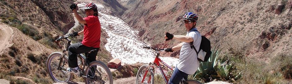 Maras Moray mountain biking Cusco