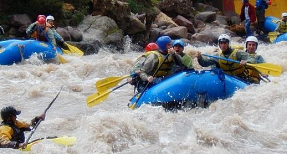 Rafting in Cusco Urubamba 2 days