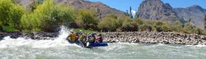 Urubamba river rafting Ollantaytambo