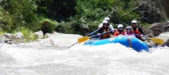 Cañete River Rafting Lima peru