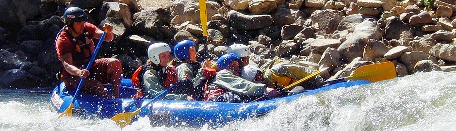 Lunahuana Paullo River rafting