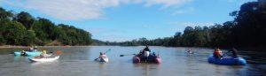 Tambopata whitewater rafting