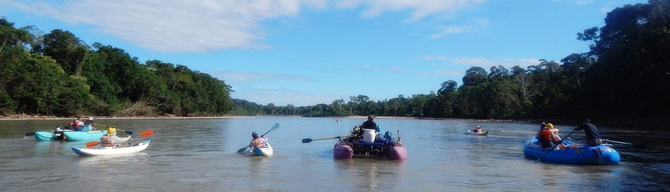 Tambopata River Rafting Amazon Peru Tour