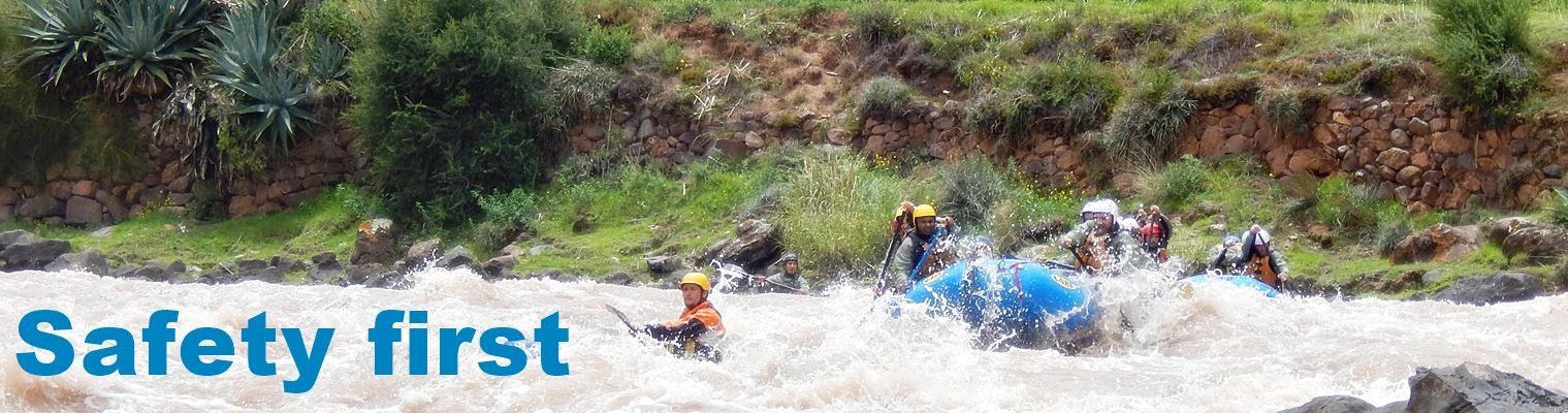 Peru Cusco whitewater rafting safety tips