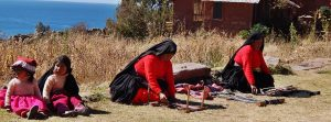 Day at Lake Titicaca Island