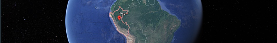 Peru destination map