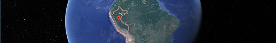 Peru destination map