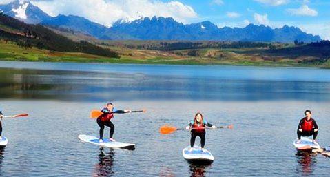 Huaypo lake SUP