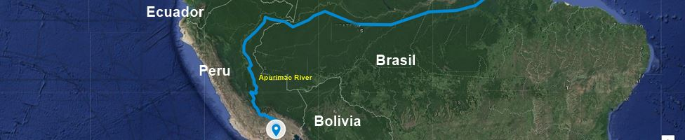 Apurimac river map