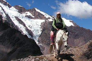 Riding on the Andes