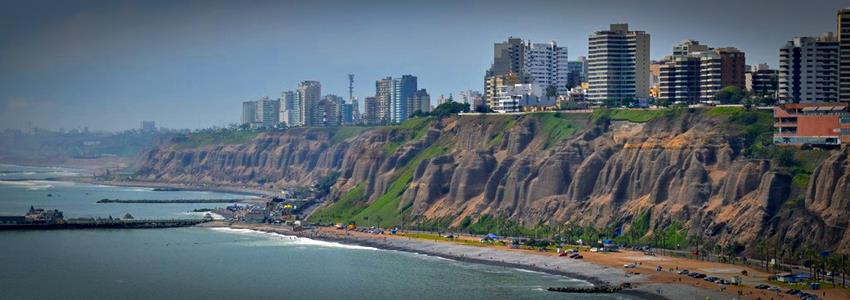 Costa verde from Chorrillos