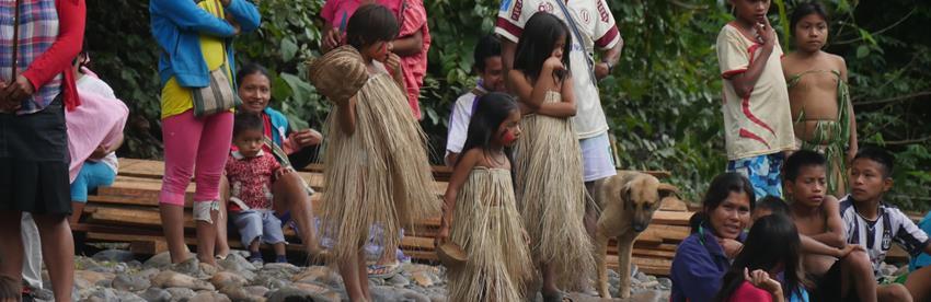 Natives kids Peru adventure tours