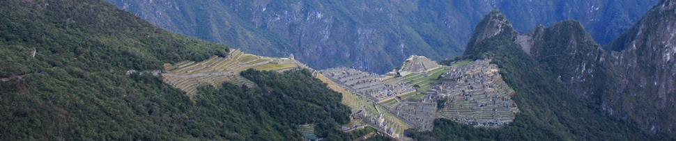 View of Machu Picchu from Intipunku