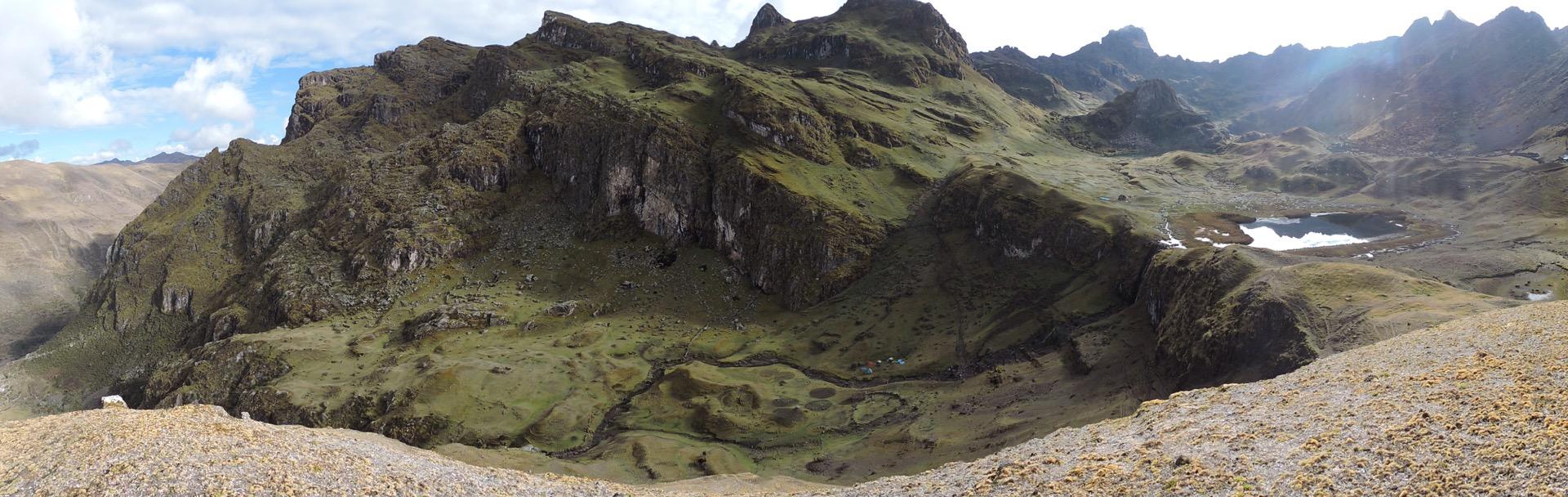 Mountains at Lares